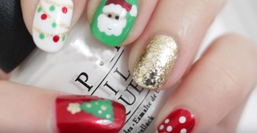 Christmas nails nail art