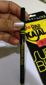 Maybelline Colossal Super Black Kajal - Packaging