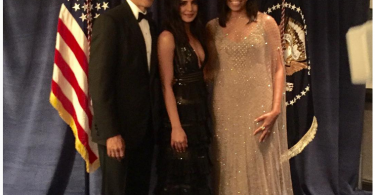 Priyanka Chopra meets US President Barack & Michelle Obama