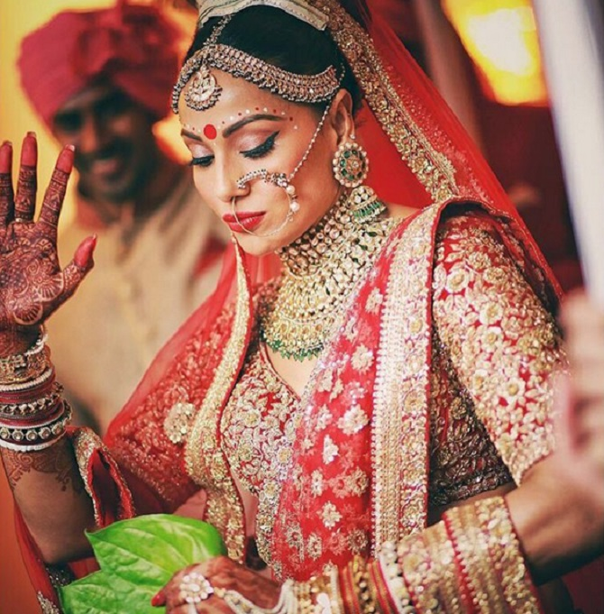 bipasha wedding photo
