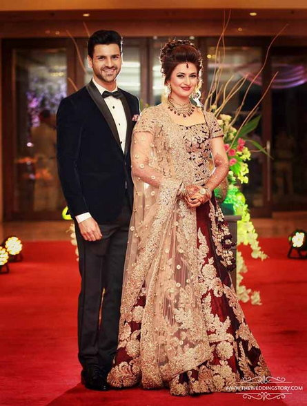 Reception Photos _ Divyanka Tripathi and Vivek Dahiya5