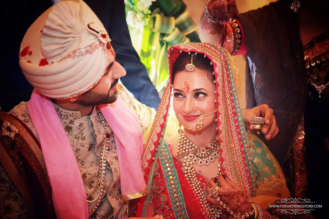 Wedding Photos _ Divyanka Tripathi and Vivek Dahiya
