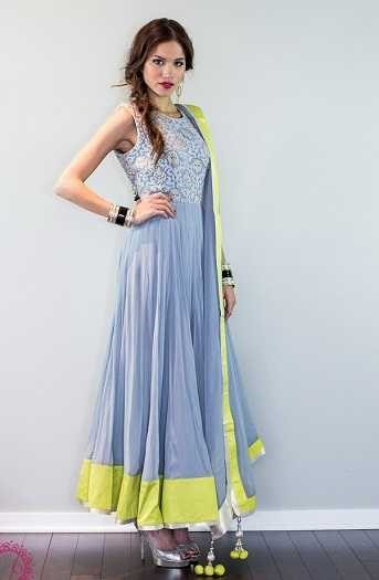 Simple Anarkali Suits