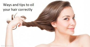 Ways to oil your hair