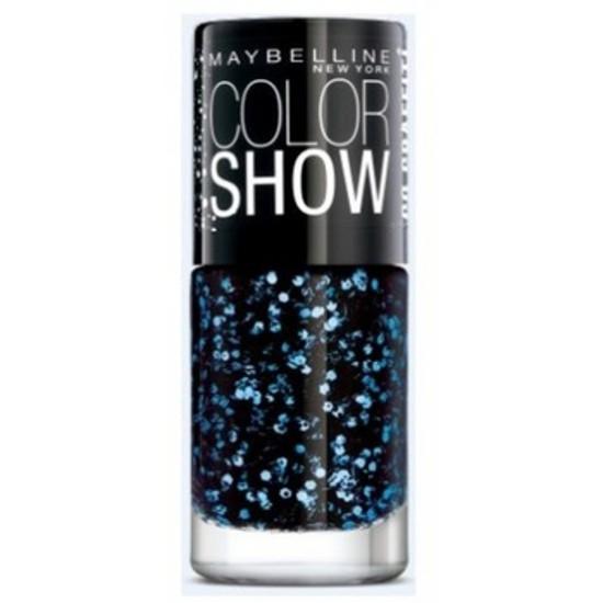 Maybelline Color Show Go Graffit Blue Beats Nail Polish