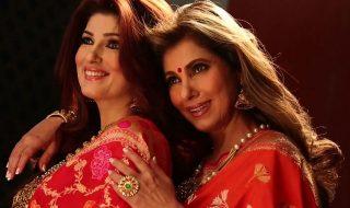 4_Dimple Kapadia and Twinkle Khanna