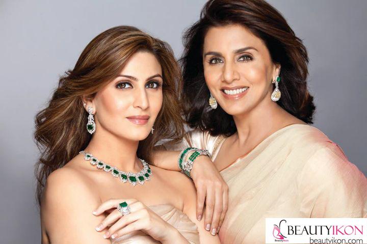 7_Neetu Singh and Riddhima Kapoor