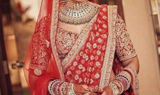bipasha-basu looks stunning in her wedding lehngha
