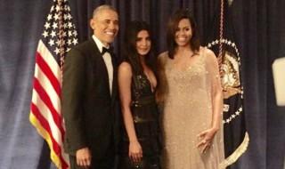 priyanka chopra with barack obama