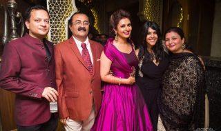 Vivek & Divyanka Tripathi Reception Photos (1)