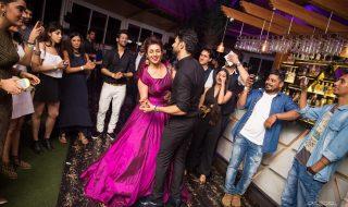Vivek & Divyanka Tripathi wedding Reception Photos