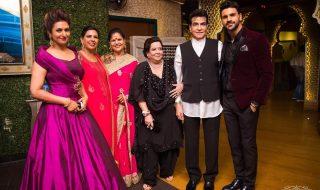 Vivek & Divyanka Tripathi Reception at Mumbai