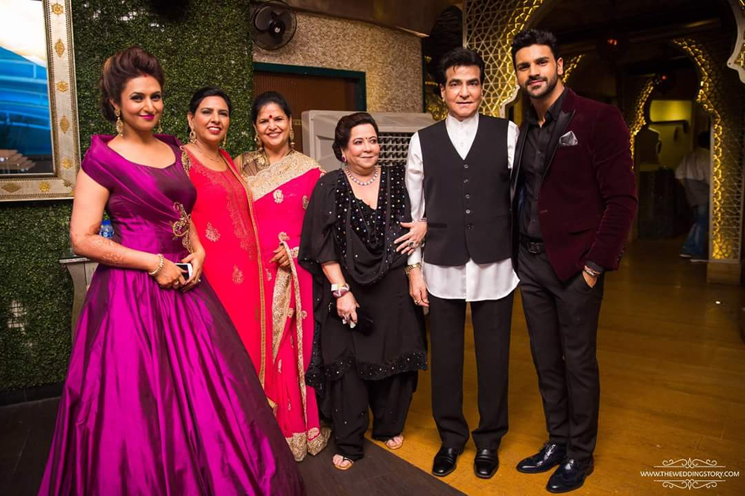 Vivek & Divyanka Tripathi Reception at Mumbai
