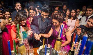 Vivek & Divyanka Tripathi Wedding Reception Celebration Photos at mumbai