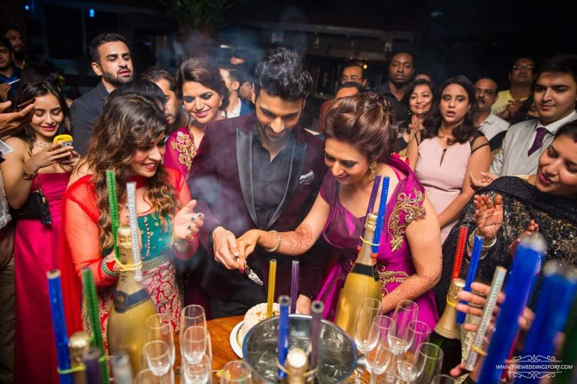 Vivek & Divyanka Tripathi Wedding Reception Celebration Photos at mumbai