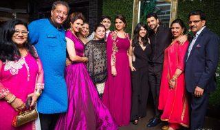 Vivek & Divyanka Tripathi Reception Photo with ekta kapoor