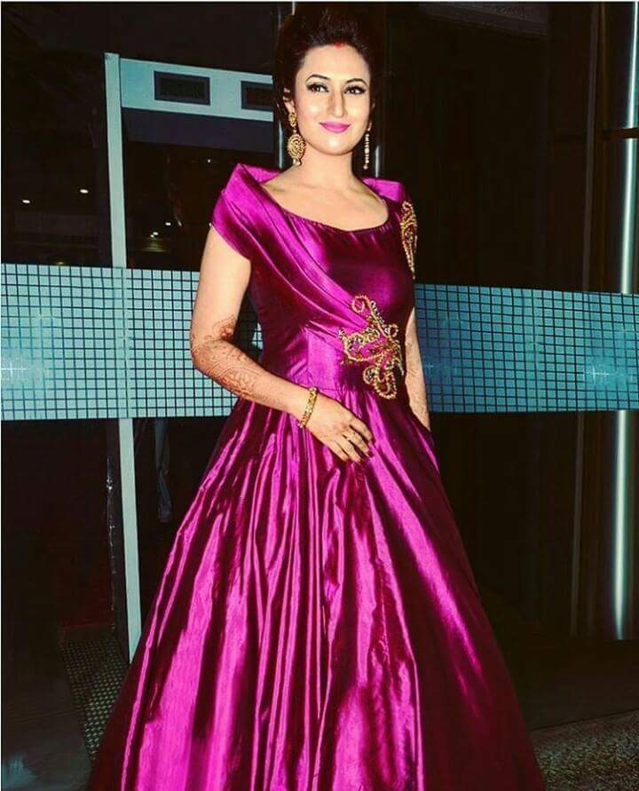 Divyanka Tripathi Reception pic at mumbai