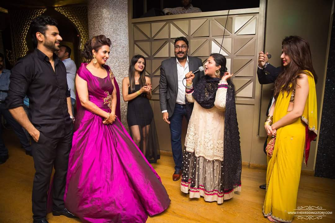 Divyanka Tripathi Reception Photo