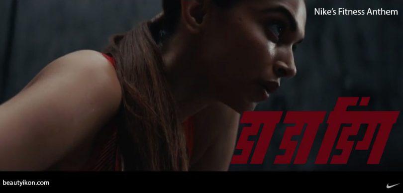 deepika padukone in nike's fitness anthem