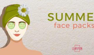 top 9 homemade face packs for hot summer